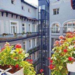 Отель Baross City Hotel Венгрия, Будапешт - 11 отзывов об отеле, цены и фото номеров - забронировать отель Baross City Hotel онлайн балкон