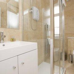 Отель Upper Berkeley Street Flats Великобритания, Лондон - отзывы, цены и фото номеров - забронировать отель Upper Berkeley Street Flats онлайн ванная фото 2