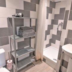 Апартаменты Studio Petit Pompidou Париж ванная