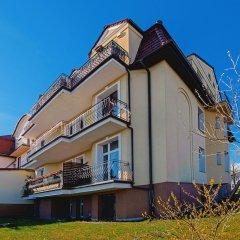 Отель Apartamenty Sun & Snow Traugutta Plaża Сопот вид на фасад