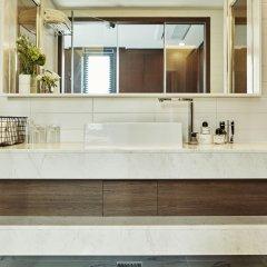 Отель Makers Hotel Южная Корея, Сеул - отзывы, цены и фото номеров - забронировать отель Makers Hotel онлайн ванная