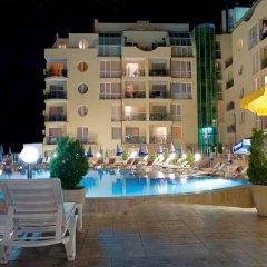 Отель Viva Apartments Болгария, Солнечный берег - отзывы, цены и фото номеров - забронировать отель Viva Apartments онлайн бассейн фото 2