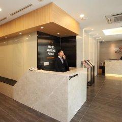 Отель SKYPARK Myeongdong II Южная Корея, Сеул - 1 отзыв об отеле, цены и фото номеров - забронировать отель SKYPARK Myeongdong II онлайн интерьер отеля фото 2