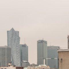 Отель P&O Apartments Hoza Studio Польша, Варшава - отзывы, цены и фото номеров - забронировать отель P&O Apartments Hoza Studio онлайн балкон
