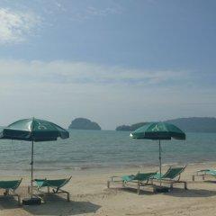 Отель Krabi Cha-da Resort пляж фото 2