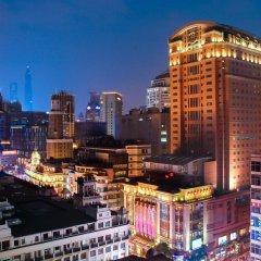 Отель Majesty Plaza Shanghai Китай, Шанхай - отзывы, цены и фото номеров - забронировать отель Majesty Plaza Shanghai онлайн балкон