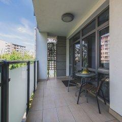Апартаменты P&O Apartments Fabryczna 3 Варшава балкон