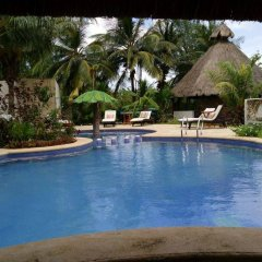 Отель Maya Hotel Residence Мексика, Остров Ольбокс - отзывы, цены и фото номеров - забронировать отель Maya Hotel Residence онлайн бассейн