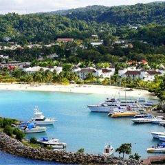 Отель Sandcastles Jamaica Beach Resort Ocho Rios пляж