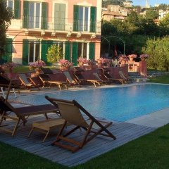 Отель Villa Rosmarino Камогли бассейн