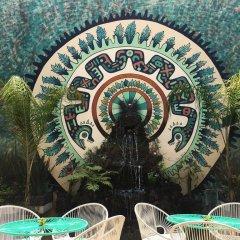 Отель Hostal Centro Historico Oasis Мехико приотельная территория