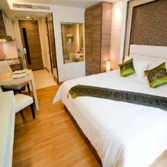 Отель Icheck Inn Residence Sukhumvit 20 Бангкок комната для гостей