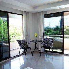 Отель Angket Hip Residence Таиланд, Паттайя - 1 отзыв об отеле, цены и фото номеров - забронировать отель Angket Hip Residence онлайн балкон