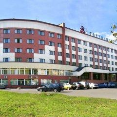 Гостиница Садко Великий Новгород вид на фасад