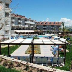 Monachus Hotel & Spa Турция, Сиде - отзывы, цены и фото номеров - забронировать отель Monachus Hotel & Spa - All Inclusive онлайн приотельная территория фото 2
