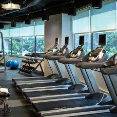 Отель Crystal City Marriott at Reagan National Airport фитнесс-зал фото 2