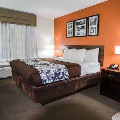 Отель Sleep Inn & Suites And Conference Center комната для гостей фото 4