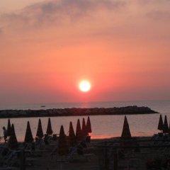 Hotel Stella D'oro Римини пляж
