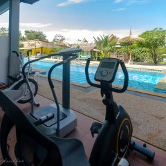 Отель Pinky Bungalow Ланта фитнесс-зал фото 4