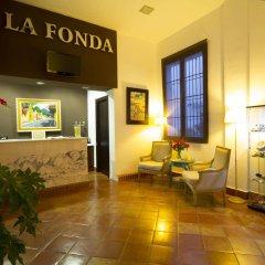 Hotel La Fonda интерьер отеля