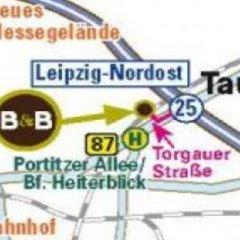 Отель B&B Hotel Leipzig-Nord Германия, Нордост - отзывы, цены и фото номеров - забронировать отель B&B Hotel Leipzig-Nord онлайн городской автобус