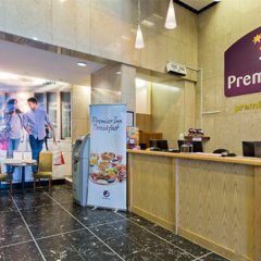 Отель Premier Inn Glasgow City - Charing Cross интерьер отеля