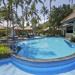 Отель Bayshore Villas Candi Dasa Индонезия, Бали - отзывы, цены и фото номеров - забронировать отель Bayshore Villas Candi Dasa онлайн бассейн фото 2