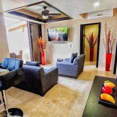 Отель Casa Cathleen Мексика, Педрегал - отзывы, цены и фото номеров - забронировать отель Casa Cathleen онлайн комната для гостей фото 5