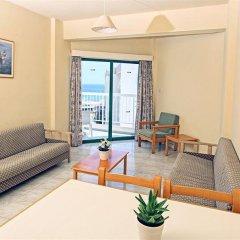 Отель Domniki Hotel Apts Кипр, Протарас - отзывы, цены и фото номеров - забронировать отель Domniki Hotel Apts онлайн комната для гостей фото 5