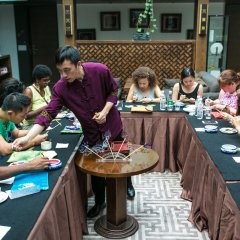 Отель Shichahai Shadow Art Performance Пекин питание фото 3