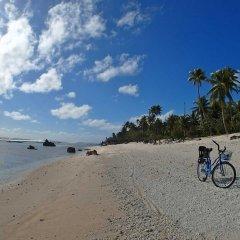 Отель Pension Justine Французская Полинезия, Тикехау - отзывы, цены и фото номеров - забронировать отель Pension Justine онлайн пляж фото 2