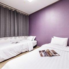 Отель CMS Inn Seoul Guesthouse комната для гостей фото 2