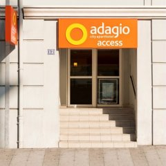 Отель Aparthotel Adagio access Nice Magnan банкомат