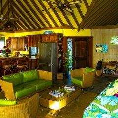 Отель Fare Matira Французская Полинезия, Бора-Бора - отзывы, цены и фото номеров - забронировать отель Fare Matira онлайн интерьер отеля