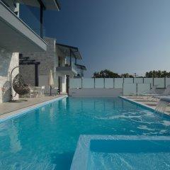 Отель White Pearl Luxury Villas Греция, Пефкохори - отзывы, цены и фото номеров - забронировать отель White Pearl Luxury Villas онлайн бассейн фото 2