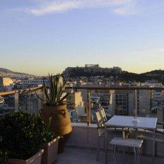 Отель Dorian Inn Hotel Греция, Афины - 7 отзывов об отеле, цены и фото номеров - забронировать отель Dorian Inn Hotel онлайн балкон