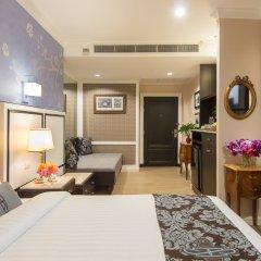 Отель Saras Бангкок комната для гостей фото 4