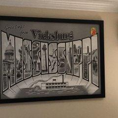 Отель Super 8 by Wyndham Vicksburg интерьер отеля