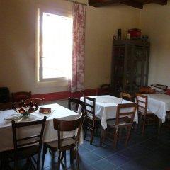 Отель Agriturismo La Riccardina Будрио питание