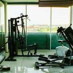 Апартаменты The Gallery Jomtien Beach Apartment Паттайя фитнесс-зал фото 2