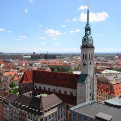 Отель Asam Hotel München Германия, Мюнхен - отзывы, цены и фото номеров - забронировать отель Asam Hotel München онлайн балкон