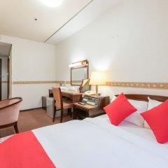 Отель OYO Hotel Toyama Joshi Koen Япония, Тояма - отзывы, цены и фото номеров - забронировать отель OYO Hotel Toyama Joshi Koen онлайн комната для гостей фото 4