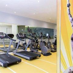 Отель Novotel Brussels City Centre фитнесс-зал