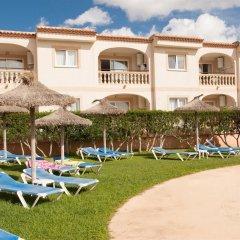 Отель Apartamentos Sol Romantica пляж