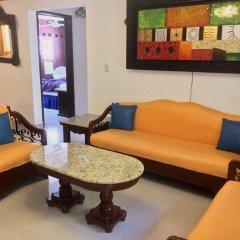 Отель Las Golondrinas Плая-дель-Кармен комната для гостей фото 3
