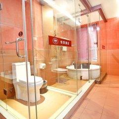 Отель Yi Lai Hotel Xian North Ming City Wall Китай, Сиань - отзывы, цены и фото номеров - забронировать отель Yi Lai Hotel Xian North Ming City Wall онлайн ванная