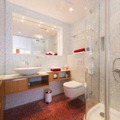 Отель Rosa Linde - Comfort B&B Австрия, Вена - отзывы, цены и фото номеров - забронировать отель Rosa Linde - Comfort B&B онлайн ванная фото 2