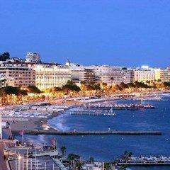 Отель Suites Cannes Croisette Франция, Канны - 2 отзыва об отеле, цены и фото номеров - забронировать отель Suites Cannes Croisette онлайн пляж