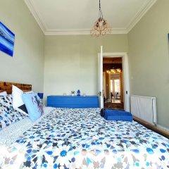 Апартаменты Gorgeous Light Apartment In West End Глазго комната для гостей фото 5