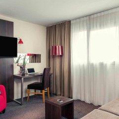 Отель Mercure Paris Porte d'Orléans Франция, Монруж - отзывы, цены и фото номеров - забронировать отель Mercure Paris Porte d'Orléans онлайн комната для гостей фото 4